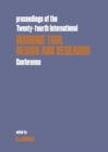 Proceedings of the Twenty-fourth International Machine Tool Design & Research Conference - eBook