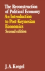 The Reconstruction of Political Economy - eBook