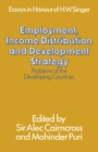 Employment, Income Distribution and Development Strategy: Problems of the Developing Countries : Essays in honour of H. W. Singer - eBook