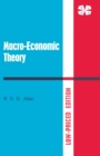 Macro-Economic Theory: A Mathematical Treatment - eBook