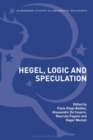 Hegel, Logic and Speculation - eBook