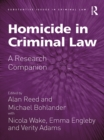 Homicide in Criminal Law : A Research Companion - eBook