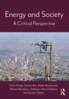 Energy and Society : A Critical Perspective - eBook