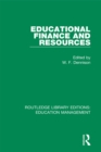 Educational Finance and Resources - eBook