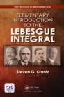 Elementary Introduction to the Lebesgue Integral - eBook
