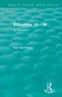Education 16 - 19 (1993) : In Transition - eBook