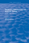 Handbook of Biochemistry : Section B Nucleic Acids, Volume I - eBook