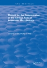 Manual for the Determination of the Clinical Role of Anaerobic Microbiology - eBook