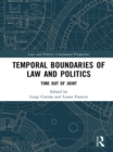 Temporal Boundaries of Law and Politics : Time Out of Joint - eBook