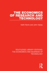 The Economics of Research and Technology - eBook