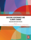 Building Governance and Climate Change : Regulation and Related Policies - eBook