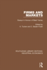 Firms and Markets : Essays in Honour of Basil Yamey - eBook