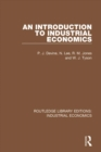 An Introduction to Industrial Economics - eBook