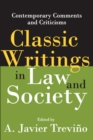 Classic Writings in Law and Society : Contemporary Comments and Criticisms - eBook
