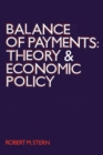Balance of Payments : Theory and Economic Policy - eBook