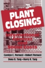 Plant Closings : International Context and Social Costs - eBook