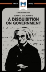 An Analysis of John C. Calhoun's A Disquisition on Government - eBook