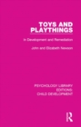 Toys and Playthings : In Development and Remediation - eBook