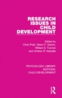 Research Issues in Child Development - eBook
