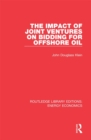 The Impact of Joint Ventures on Bidding for Offshore Oil - eBook