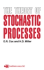 The Theory of Stochastic Processes - eBook