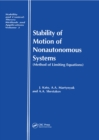 Stability of Motion of Nonautonomous Systems (Methods of Limiting Equations) : (Methods of Limiting Equations - eBook
