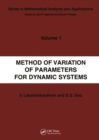 Method of Variation of Parameters for Dynamic Systems - eBook
