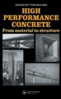 High Performance Concrete : From material to structure - eBook
