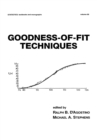 Goodness-of-Fit-Techniques - eBook