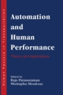 Automation and Human Performance : Theory and Applications - eBook