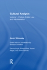 Cultural Analysis : Volume 1, Politics, Public Law, and Administration - eBook