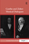 Goethe and Zelter: Musical Dialogues - eBook