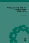 Acting Theory and the English Stage, 1700-1830 Volume 1 - eBook