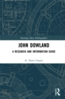 John Dowland : A Research and Information Guide - eBook