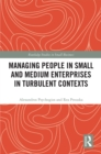 Managing People in Small and Medium Enterprises in Turbulent Contexts - eBook