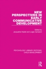 New Perspectives in Early Communicative Development - eBook