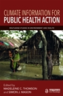 Climate Information for Public Health Action - eBook