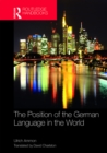 The Position of the German Language in the World - eBook