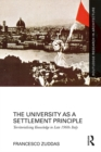 The University as a Settlement Principle : Territorialising Knowledge in Late 1960s Italy - eBook