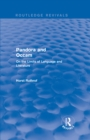 Routledge Revivals: Pandora and Occam (1992) : On the Limits of Language and Literature - eBook