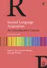 Second Language Acquisition : An Introductory Course - eBook