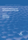 Regional Planning and Development in Europe - eBook