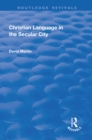Christian Language in the Secular City - eBook