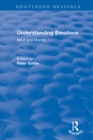 Understanding Emotions: Mind and Morals : Mind and Morals - eBook