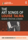 The Art Songs of Louise Talma - eBook