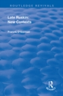 Late Ruskin: New Contexts - eBook