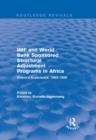 IMF and World Bank Sponsored Structural Adjustment Programs in Africa : Ghana's Experience, 1983-1999 - eBook