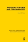 Foreign Exchange and Foreign Debts - eBook