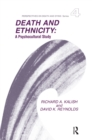 Death and Ethnicity : A Psychocultural Study - eBook