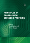 Principles of Geographical Offender Profiling - eBook